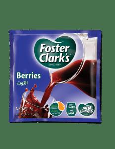 Small Sachet of Foster Clark's Berries Powder drink 6 grams make one glass