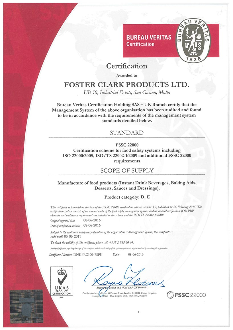 how to become food safety certified