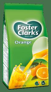Foster Clark's orange flavoured drink 500 grams