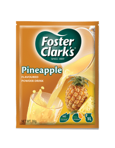 Pineapple drink packet of 30 grams which makes 1 litre of juice