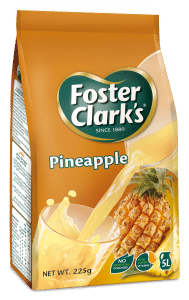 Foster Clark's Pineapple Flavoured Powder Drink 225 grams