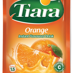 Orange flavoured drink TIara
