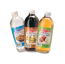3 different kinds of vinegar from Calypso brand