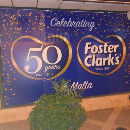 Foster clark's turns 50